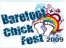 Barefoot Chick Fest 2009 Logo